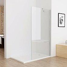 MIQU Walk in Dusche Duschwand Duschtrennwand