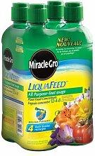 Miracle-Gro Liqua Futtermittel, 4 Stück