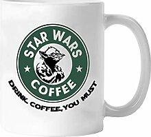 Miracle Star-Wars-Kaffeetasse, 325 ml, Keramik,