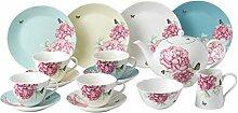 Miranda Kerr von Royal Albert 15tlg Tee-Tasse und