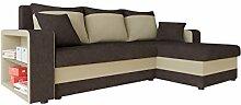Mirjan24  Ecksofa Fano, Design Eckcouch Couch! mit