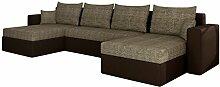 Mirjan24  Ecksofa Sofa Couchgarnitur Couch Rumba!