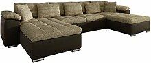 Mirjan24  Ecksofa Wicenza! Design Big Sofa