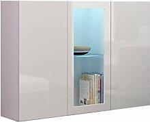 Mirjan24  Kommode Vigo Sideboard mit Glasboden und