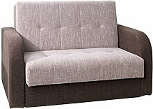 Mirjan24  Schlafsofa American Quadro II, Couch mit