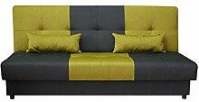 Mirjan24  Schlafsofa Eno 3 Sitzer Sofa, Couch mit
