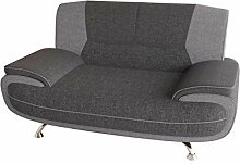 Mirjan24 Zweisitzer Sofa Palermo 2, Relaxsofa vom