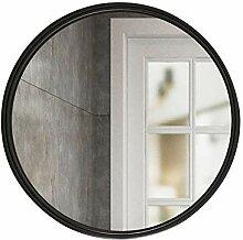 Mirror Badspiegel, runder Wandspiegel, Edelstahl,