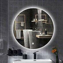 Mirror LED-Badspiegel, Schminktisch mit