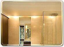 Mirror Spiegel, Wandmontage-Rechteck Rahmenloser
