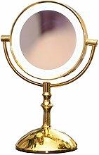Mirror Spiegel- Zweifarbige Dimmer LED Kosmetik