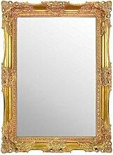 MirrorOutlet Groß Gold sehr kunstvoll Antik