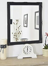 MirrorOutlet Groß Schwarz Shabby Chic Design Big