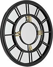 MirrorOutlet Große Industrielle Antik Uhr Face