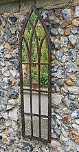 MirrorOutlet Metall Rustikaler Spiegel/Outdoor