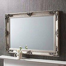 MirrorOutlet Shabby Chic Stil Silber Antik groß