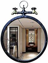 Mirrors Wandschminktisch/Frisiertisch, rund,
