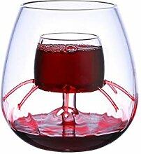 miruike Kristall Wein Glas Wein Luftsprudler