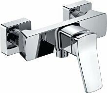 Mischbatterie für Dusche STILO Verchromt -