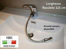 Mischbatterie Waschbecken herausziehbarer Brause