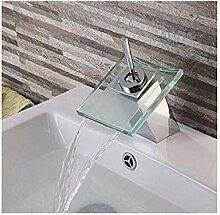 Mischbatterien Bad Wasserhahn Glas Waschbecken