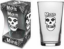 Misfits BIERGLAS Beer Glass Fiend Logo - Pint 570