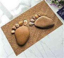 Mishuai Große Fußgummis Fußmatten Ultradünne