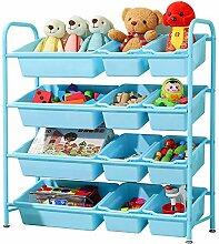 MISHUAI Kinder Spielzeug Lagerregal Spielzeugregal