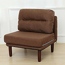 MISHUAI Lounge Sofa Gepolsterte Holzliege Moderne