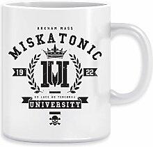 Miskatonic University Crest Kaffeebecher Becher