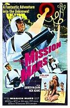 Mission Mars Poster 02 Metal Sign A4 12x8 Aluminium