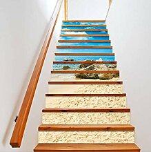 Missixty 3D-Treppen-Aufkleber, selbstklebend,
