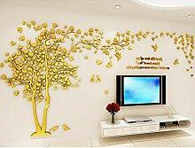 Missley 3D Baum Bilderrahmen Wandaufkleber