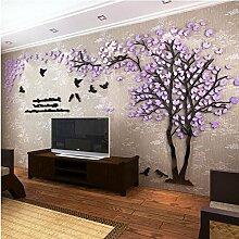 Missley 3D riesige Paar Baum Wandtattoo Acryl