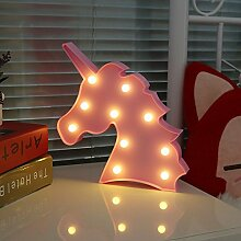 Missley Einhorn LED Light Marquee Nachtlichter