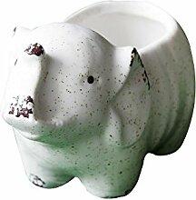 Misslight Eulen Figur Haus Warming Geschenk Tabletop Regal Keramik Hause Dekorative Kerzenhalter Sammler Figur Statuen (Style5)