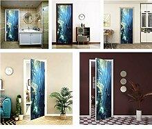 MISSSIXTY 32,2 x 78,7 Zoll 3D Tür Wandbild Tapete