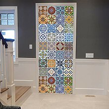 MISSSIXTY 3D-Tür-Wandbild, Tapete, Aufkleber,