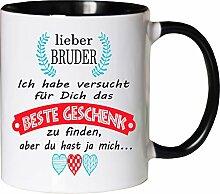 Mister Merchandise Becher Tasse Bruder Kaffee