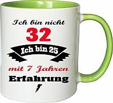 Mister Merchandise Becher Tasse Ich Bin Nicht 32
