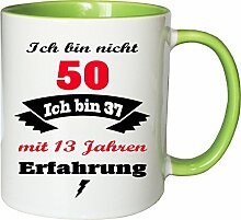 Mister Merchandise Becher Tasse Ich Bin Nicht 50