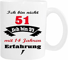 Mister Merchandise Becher Tasse Ich Bin Nicht 51
