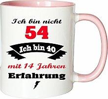 Mister Merchandise Becher Tasse Ich Bin Nicht 54