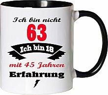 Mister Merchandise Becher Tasse Ich Bin Nicht 63