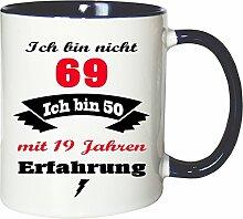 Mister Merchandise Becher Tasse Ich Bin Nicht 69