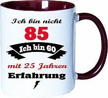 Mister Merchandise Becher Tasse Ich Bin Nicht 85