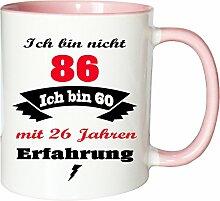 Mister Merchandise Becher Tasse Ich Bin Nicht 86