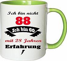Mister Merchandise Becher Tasse Ich Bin Nicht 88