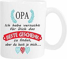 Mister Merchandise Becher Tasse Opa Kaffee