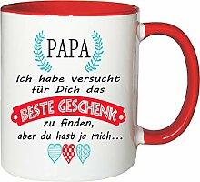 Mister Merchandise Becher Tasse Papa Kaffee